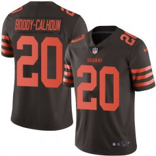 2016 Nike Cleveland Browns 20 Briean Boddy-Calhoun Brown Mens Stitched NFL Limited Rush Jersey