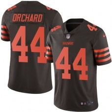 2016 Nike Cleveland Browns 44 Nate Orchard Brown Mens Stitched NFL Limited Rush Jersey