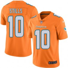 2016 Nike Miami Dolphins 10 Kenny Stills Orange Mens Stitched NFL Limited Rush Jersey