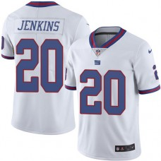 2016 Nike New York Giants 20 Janoris Jenkins White Mens Stitched NFL Limited Rush Jersey