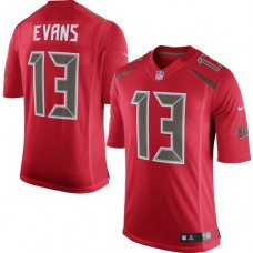 2016 Nike Tampa Bay Buccaneers 13 Mike Evans Red Mens Stitched NFL Limited Rush Jersey