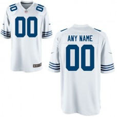 Youth Indianapolis Colts Custom Alternate White Game NFL Jersey
