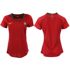 2018 World Cup Portuga home aaa version womens soccer jersey