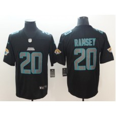 2018 Men Jacksonville Jaguars 20 Ramsey Nike black limited NFL jerseys