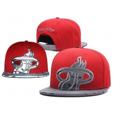 2018 NBA Miami Heat Snapback hat GSMY0925