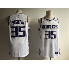 Men Sacramento Kings 35 Bagley III white Game Nike NBA Jerseys