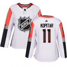 Adidas Los Angeles Kings 11 Anze Kopitar White 2018 All-Star Pacific Division Authentic Women Stitched NHL Jersey