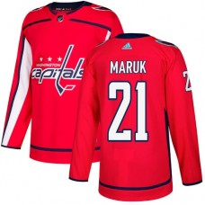 Adidas Men Washington Capitals 21 Dennis Maruk Red Home Authentic Stitched NHL Jersey