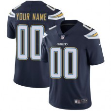 2019 NFL Youth Nike Los Angeles Chargers Home Navy Blue Customized Vapor jersey