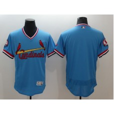 2016 MLB St. Louis Cardinals Blank Blue Elite Fashion Jerseys