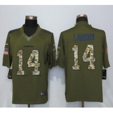 2016 Miami Dolphins 14 Landry Green Salute To Service New Nike Limited Jersey