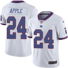2016 Nike New York Giants 24 Eli Apple White NFL Limited Rush Jersey