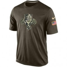 2016 Mens Florida Panthers Salute To Service Nike Dri-FIT T-Shirt