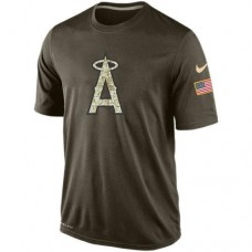 2016 Mens Los Angeles Angels Salute To Service Nike Dri-FIT T-Shirt