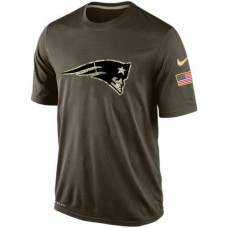 2016 Mens New England Patriots Salute To Service Nike Dri-FIT T-Shirt