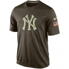 2016 Mens New York Yankees Salute To Service Nike Dri-FIT T-Shirt