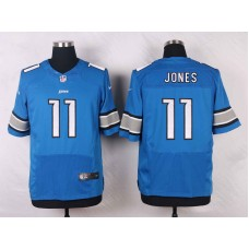 Detroit Lions 11 Jones Blue 2016 Nike Elite Jerseys
