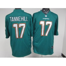 Miami Dolphins 17 Tannehill Green Nike 2015 Game Jerseys