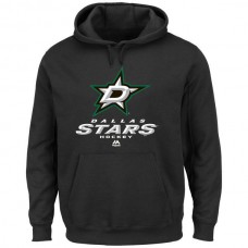 2016 NHL Majestic Dallas Stars Critical Victory VIII Pullover Hoodie - Black