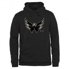 2016 NHL Mens Washington Capitals Black Rink Warrior Pullover Hoodie
